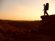 Bouldering on the North Yorkshire Moor