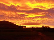 Dawn over Great Mell Fell, Lakes October 2011