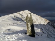Marker stone Snowdon