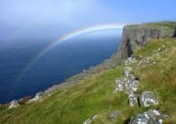 Rainbow over Fair Head
