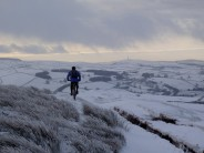 Looking towards Macclesfield forest.