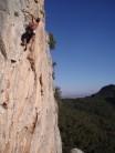 Unknown climber on 'Birdy'
