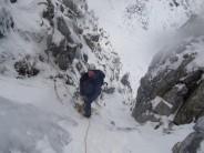 deep snow & hard ice !