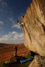 James Blay amidst typical Gritstone colours on Not to Be Taken Away