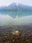 A still Chilco Lake, British Columbia.