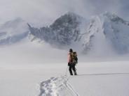 Approaching 'The Myth', Adelaide Island, Antarctic Peninsula