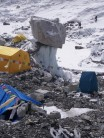 A toilet for the brave, or desperate and Everest Base Camp