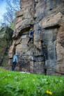 Climbing Mather Crack