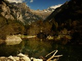 It's not all about the bouldering in Val di Mello...<br>© James Rushforth
