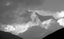 Lhotse from Tengboche