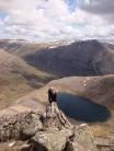 High up on Angel's (NE) Ridge