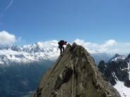 on the razor ridge