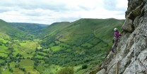 Pitch 4 of Will-o'-the-Wisp and the lovely Cwm Cywarch