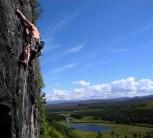 Toph enjoying a Scottish summer...
