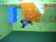 1st Lichfield Scouts Bouldering Wall