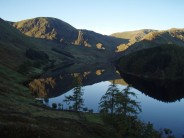 Harter Fell reflected in Haweswater reservoir