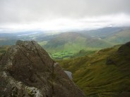 On the walk-in to Dow Crag