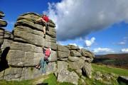 Slightly misguided training for Troll Wall<br>© Mark Davis