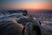 Iced Rocks at Stanage Edge<br>© Andy Hemingway