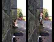 The Big Slap. The Bournebrook Wall, Upper Tier.