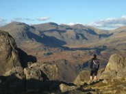 The Scafell range from Harter Fell