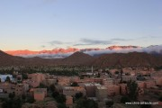 Jebel el Kest - The view from the bedroom window, Hotel les Amandiers, Tafraoute... The adventure begins.<br>© Steve Broadbent