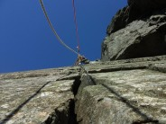 Rich Alderton leading Innominate Crack on a sunny March morning. Then it rained for 6 months.