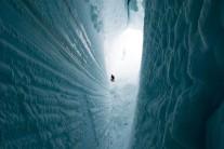 Crevasse, Antarctica