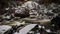 A snowy Inglis Falls