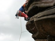 Sean on Flying Buttress Direct