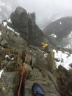 1st time on Pinnacle Ridge for Ian