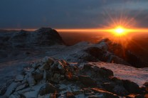 sunrise from Pike O Stickle