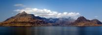 The Cuillin seen from the Elgol area