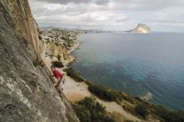 Plata (6a+) at Toix Este from the new Costa Blanca Rockfax