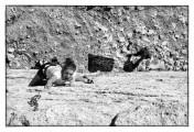 Zed Tulcsik sending El ultimo rayo del sol (7a+), lower gorge - El Chorro<br>© patrickpearce