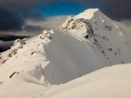 Ascending Mullach Fraoch-Choire South Ridge