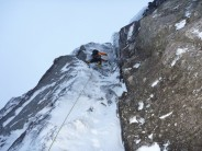 """Graham Penny on his route """"Work Ethic"""" IV4"""