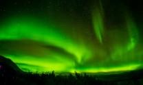 More aurora over Njolla in the Abisko national park, Sweden