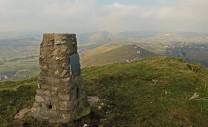 View towards Earl Sterndale from High Wheeldon