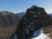Beinn Dearg and Liathach from the first Horn, Beinn Alligin