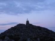 the summit of Yr Eifl.