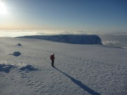 cloud inversion coming off the ben