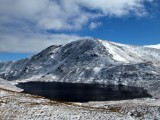 Looking across Grisedale Tarn to Fairfield on a superb winters day<br>© Bob Bennett