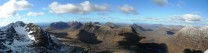 Torridon panorama from Spidean a' Choire Leith