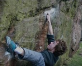 Trying Nadin's Traverse last year (March 2012). Finally got it this year (29th March 2013).