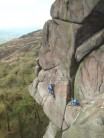 Mark Humphries in a classic position on Valkyrie (VS 4c), the Roaches