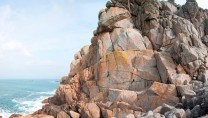 Glorious granite at Sennen