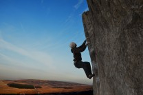 Glorious early morning at Stanage