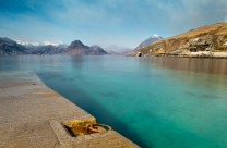 Elgol and the Cuillin under smoke