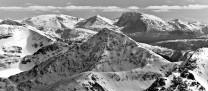 Sgurr an Lochain (South Cluanie Ridge) and Ben Nevis